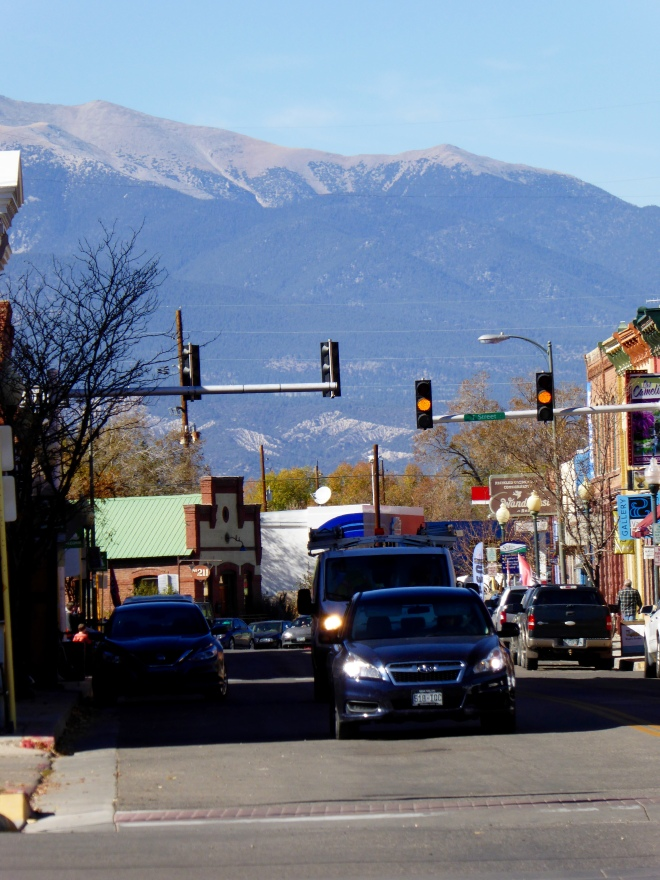 Main street in Salida, Colorado