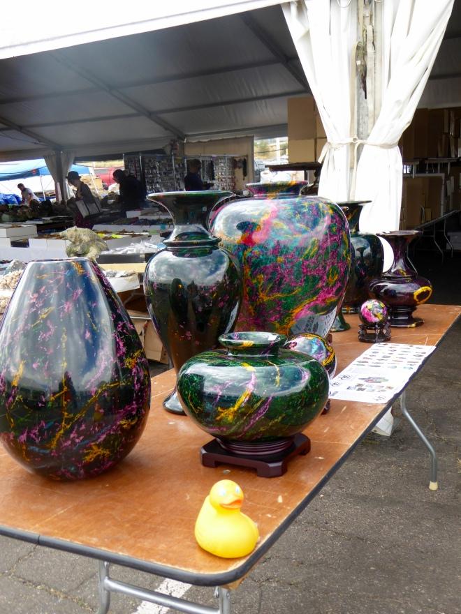 7 Color Jade Vases
