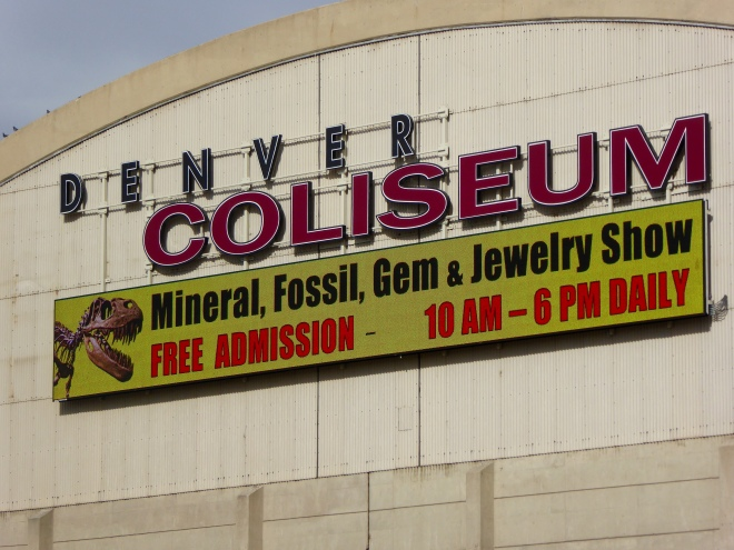 Mineral, Fossil, Gem, and Jewelry Show in Denver, Colorado