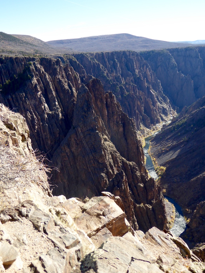 Pulpit Point with Gunnison River below