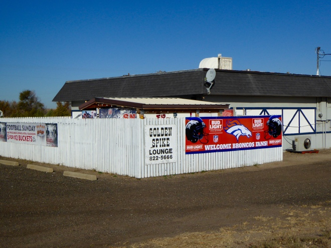 Golden Spike Lounge supports the Denver Broncos