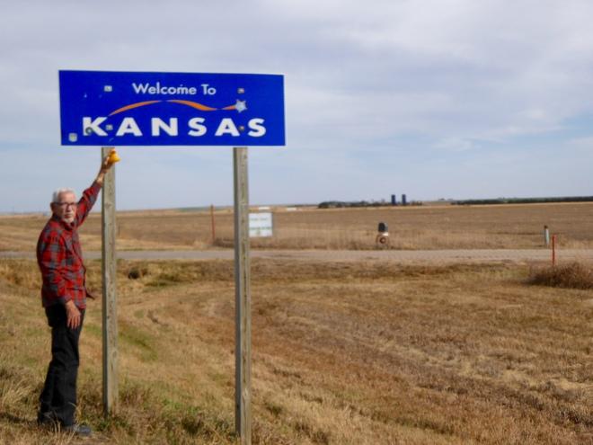 Entering Kansas