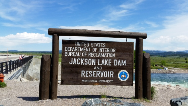 Jackson LakeDam and Reservoir