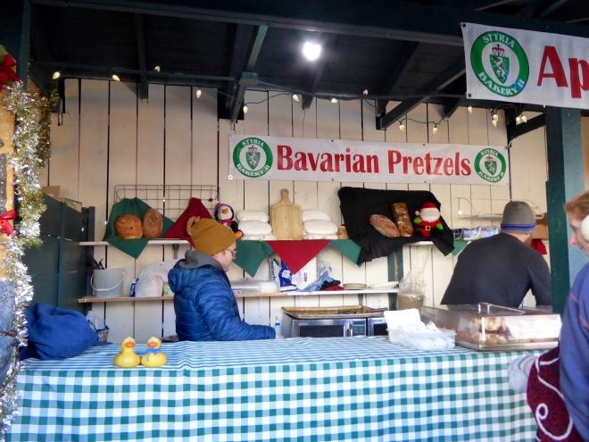 Pretzels and snacks