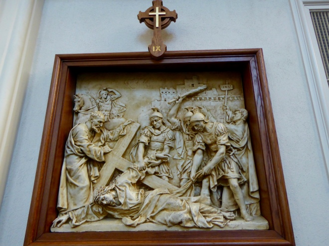IX Station of the Cross