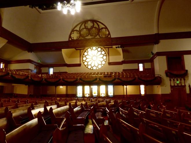 Inside Trinity United Methodist Church