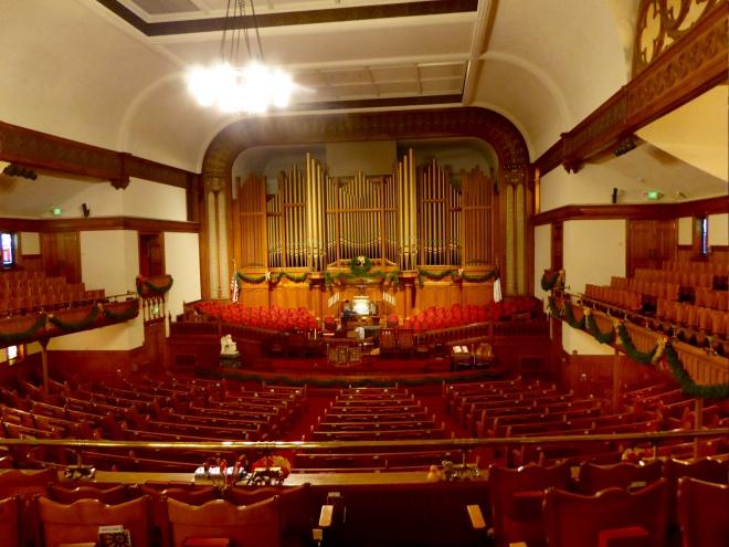 From balcony to organ