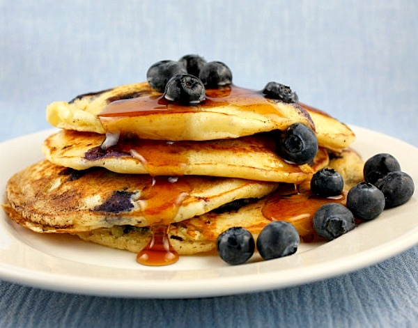 Today is National Blueberry Pancake Day forecasting