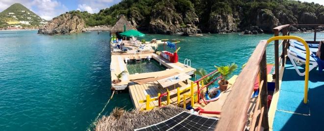 Floating Tiki Hut