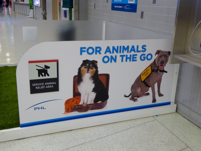Dogs in airports
