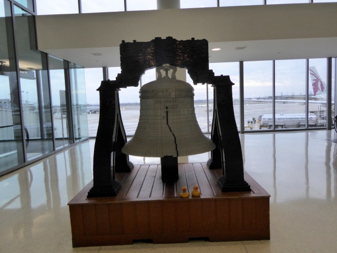 Liberty Bell of Legos