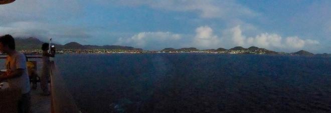 Leaving St. Kitts