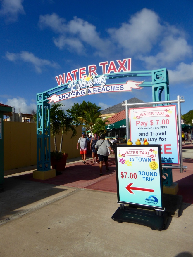 To the Water taxi