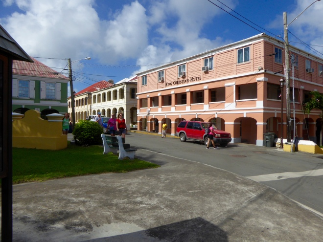 King Christian Hotel in Christiansted, St Croix