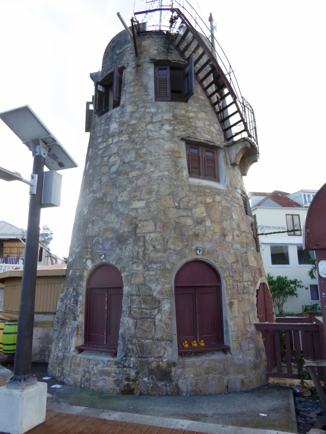 Old sugar mill building