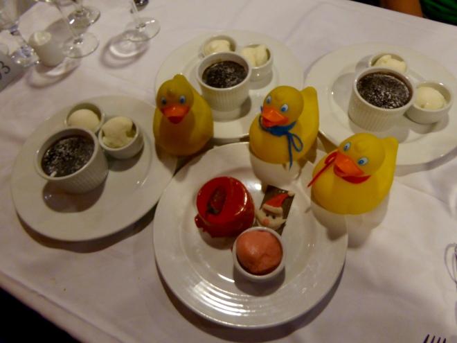 Great desserts tonight