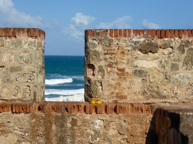 Looking through the wall
