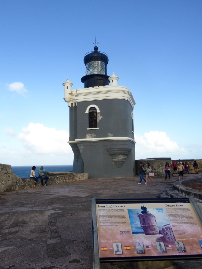 Fourth and newest lighthouse