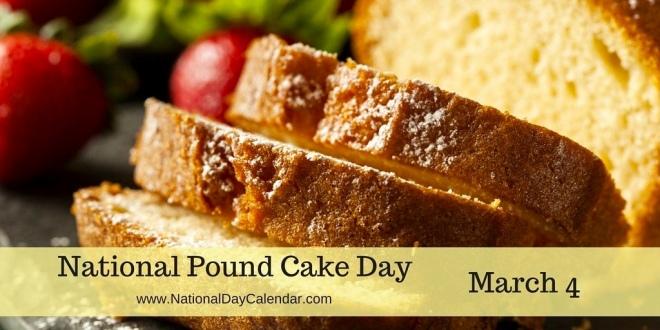 Pound Cake. Yum