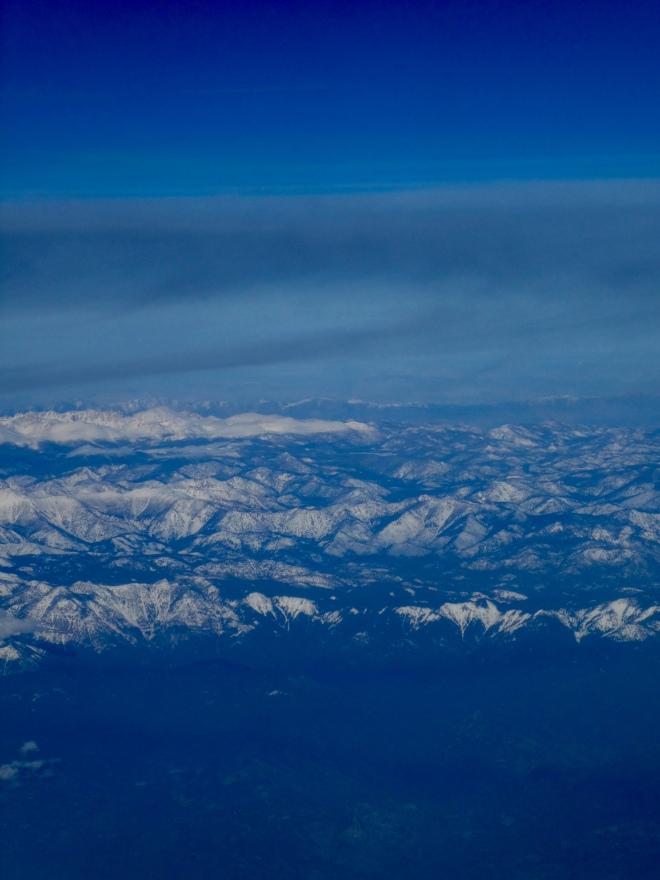 California's mountains