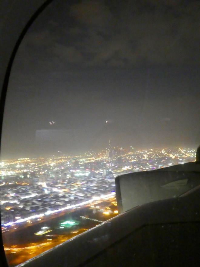Approaching Dubai