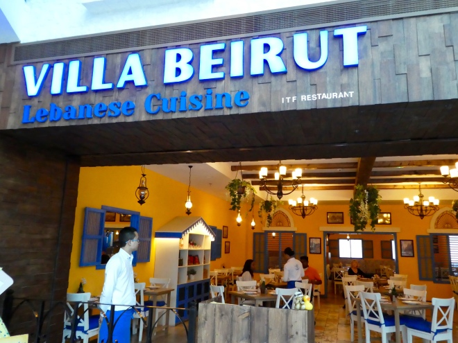 Villa Beirut for lunch