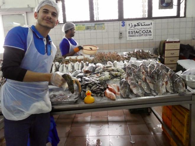 fish market. eel??