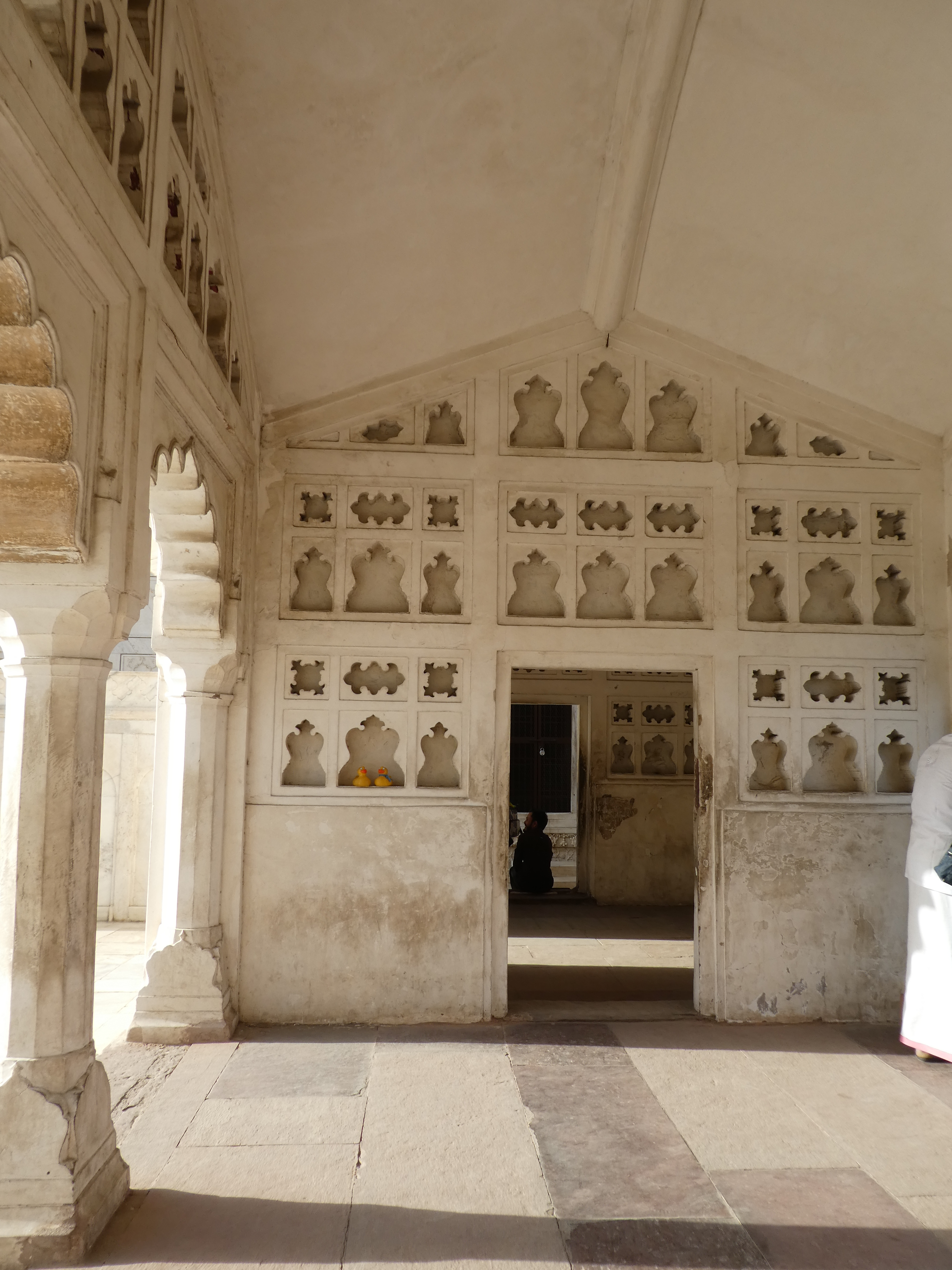 Shah Jahan Under House Arrest In Agra Fort India
